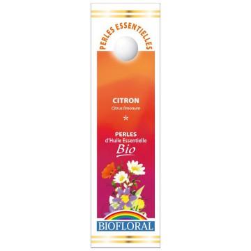 Perles essentielles Citron Bio - Biofloral