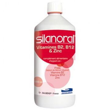 SILANORAL® VITAMINÉ 4000 MG/L tonus général articulaire - sante silice