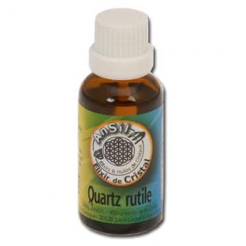 Quartz rutile - Elixir de Cristaux