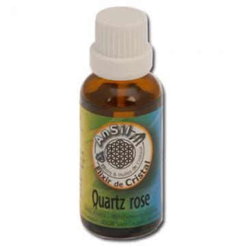 Quartz rose - Elixir de Cristaux : Apaisant