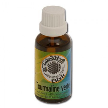 Tourmaline verte - Elixir de Cristaux