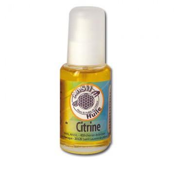 Citrine - Huile de cristaux - 50 ml - Ansil