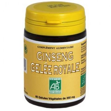 Ginseng & Gelée Royale Bio, 60 gélules - Abeille Forestière