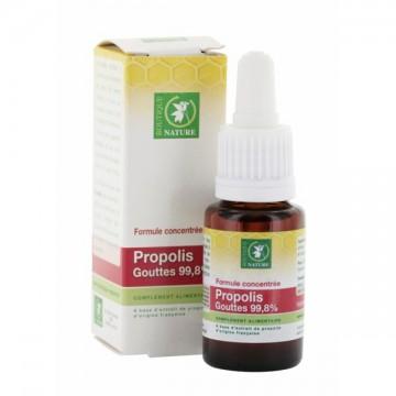 Gouttes 99.8% propolis Française 15 ml - Boutique Nature