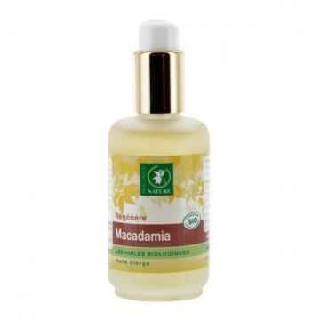 Huile végétale de Macadamia BIO - 50 ml - Boutique Nature