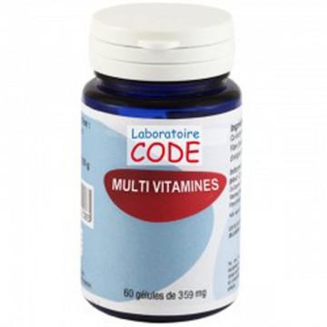 Multi Vitamines, 60 gélules - Laboratoire Code