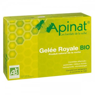 Coffret gelée royale Pure Bio - 40 g - Apinat