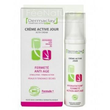 Crème Active jour Fermeté Anti age - BIO - Dermaclay