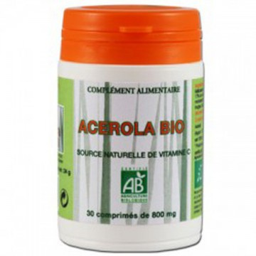Acérola Bio, 30 comprimés - Brasil