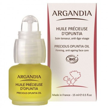 Huile de Figue de Barbarie pure Bio, 15 ml - Argandia