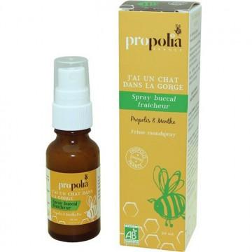 Spray buccal propolis & menthe BIO - flacon 20 ml - Apimab