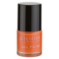 Vernis à ongles orange vif (mighty orange) - 9 ml Benecos