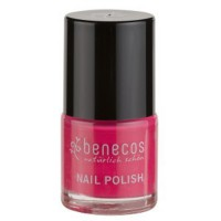 Vernis à ongles rose groseille flashy (oh lala!) - 9 ml Benecos