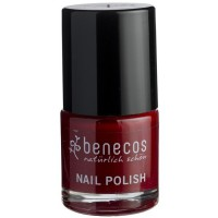 Vernis à ongles rouge cerise (cherry red) - 9 ml Benecos