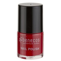 Vernis à ongles rouge tendance (vintage red) - 9 ml - Benecos