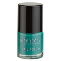 Vernis à ongles vert emeraude (green way) - 9 ml Benecos
