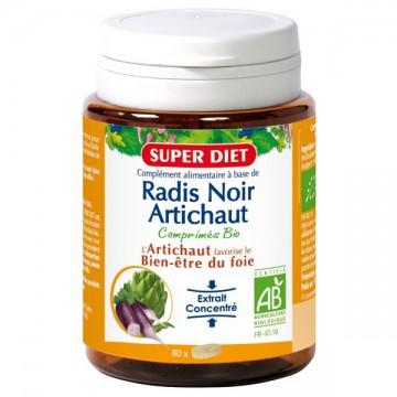 Radis Noir - Artichaut Bio - superdiet - 80 comprimés