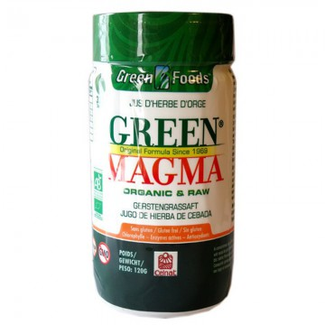 Green Magma en poudre Bio - 80 et 150 g - Celnat