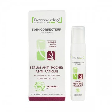 Sérum anti-poches, anti-fatigue bio - 10 ml - Dermaclay