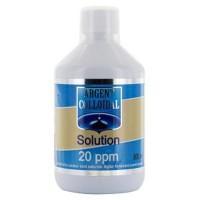 Solution argent colloidal 20 PPM - 500 ML - Vecteur Energy