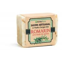 Savon au Lait d'Anesse et à l'Huile d'Argan Bio - Romarin - 140 g