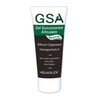 Gel surconcentré articulaire neutral - GSA - 200 ml - Aquasilice