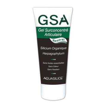 Gel surconcentré articulaire neutral - GSA - 200 ml - Aquasilice