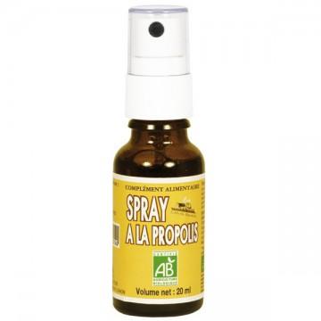 Spray à la propolis BIO, 20 ml - Abeille Forestière