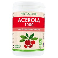 Acérola Bio 1000 mg : fatigue physique et intellectuelle passagère