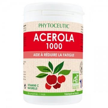 Acérola Bio 1000 mg - Phytoceutic - 28 comprimés