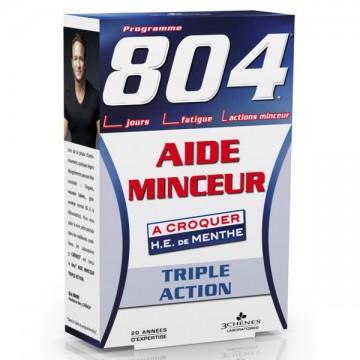 804 Aide Minceur - 30 comprimés - Les Trois Chênes Laboratoires