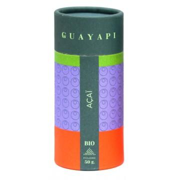 Açai Bio en poudre - Guayapi - 50 g : force et vitalité