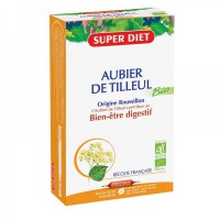 Aubier de Tilleul Bio - Super Diet - 20 ampoules de 15 ml