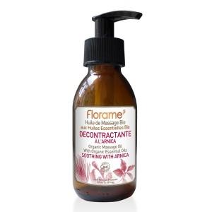 Huile de massage décontractante - bio- 120 ml - Florame
