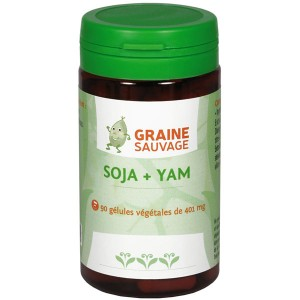 Soja + Yam - Graine Sauvage - 90 gélules