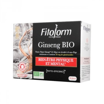 Ginseng bio - 60 comprimés - Fitoform