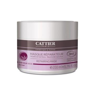 Masque réparateur cheveux secs - Cattier - 200 ml