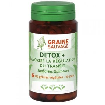 Détox + - Graine Sauvage - 120 gélules
