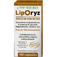 LipOryz -100 Capsules - Huile de Son de Riz - LT Labo