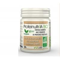 Complément Alimentaire Protéines Végétales ProteinultrAA Bio Pot de 300 g Lt Labo