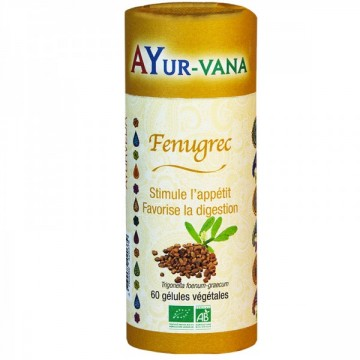 Fenugrec bio, 60 gélules, AYurvana