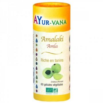 Antioxydant Amalaki Bio, 60 gélules - Ayurvana