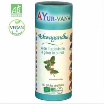Ashwagandha BIO (Ginseng Indien) - 60 gélules - AYURVANA