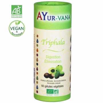 Triphala bio, 60 gélules - AYURvana
