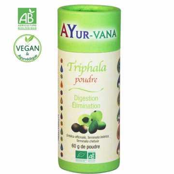 Triphala bio (en poudre) - 60 g - AYur-vana