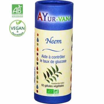 Neem bio - Ayur-vana - 60 gélules