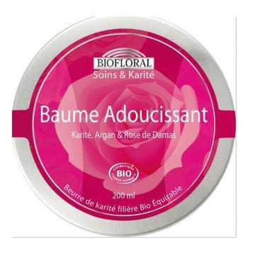 Baume adoucissant - Karité- Rose de Damas BIO- 200 ml - Biofloral