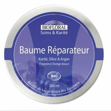 Baume réparateur Karité , silice- Bio - Biofloral - 200ml