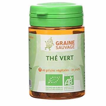 Thé vert Bio - 60 gélules - Graine Sauvage