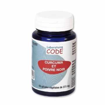 Curcuma et Poivre noir - 60 gélules - Laboratoire Code